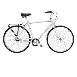 """Electra Herren Fahrrad Loft 7i Stadtrad, Silber, 7 Gang, 28"""""""