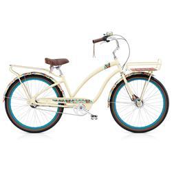 """Electra Damen Fahrrad Tapestry 3i Beachcruiser, Creme, 3 Gang, 26"""""""