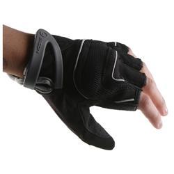 Ergon Damen Kurzfinger Handschuhe HT1-W, Schwarz