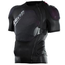 Leatt Unisex Protektorenshirt Kurzarm Body Tee 3DF AirFit Lite, Schwarz