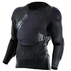 Leatt Unisex Protektorenshirt Langarm Body Protector 3DF AirFit, Schwarz