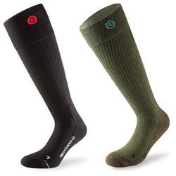 Lenz Unisex Beheizbare Socken Heat 4.0 & Toe Cap