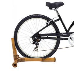 myBoo Fahrradständer Bambus, Braun