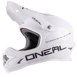 O'Neal Crosshelm 3Series MX Flat, Weiß