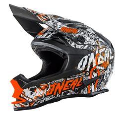 O'Neal Crosshelm 7Series EVO Menace, Orange