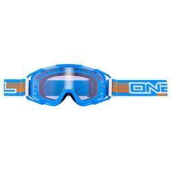 O'Neal Crossbrille B2 RL Goggle Threesixzero Clear, Blau
