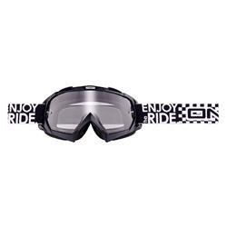 O'Neal Crossbrille B-Flex Goggle Launch Clear, Schwarz