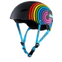 O'Neal Kinder Fahrradhelm Dirt Lid Fidlock Rainbow Youth, Schwarz