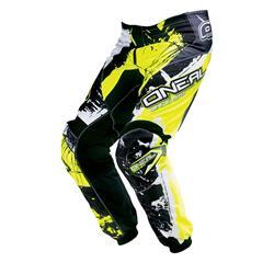 O'Neal Herren Motocross Hose Element Shocker, Gelb