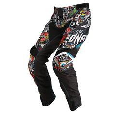 O'Neal Herren Motocross Hose Mayhem Crank, Schwarz