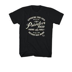O'Neal Unisex T-Shirt Privateer, Schwarz