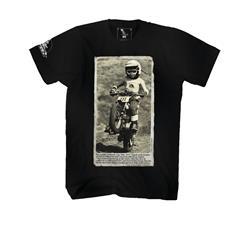 O'Neal Unisex T-Shirt Wheelie, Schwarz