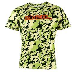 O'Neal Unisex T-Shirt Piledriver Camouflage, Grün
