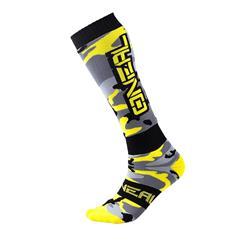 O'Neal Unisex Socken Pro MX Hunter, Grau Gelb