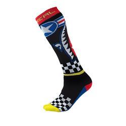 O'Neal Unisex Socken Pro MX Wingman, Mehrfarbig
