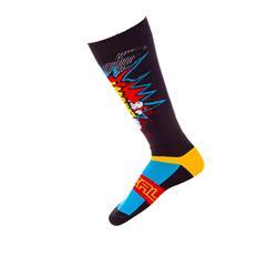 O'Neal Unisex Socken Pro MX Braaapp, Mehrfarbig