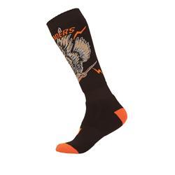 O'Neal Unisex Socken Pro MX Eagle, Schwarz Orange
