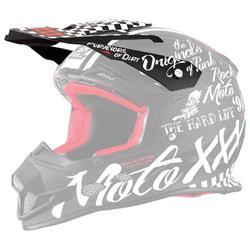 O'Neal Helmschirm Moto XXX Torment Visor, Schwarz