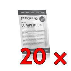 Sponser Competition Hypotonic Orange, 20x 60g