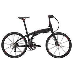 """Tern Unisex Fahrrad Eclipse X22 Faltrad, Schwarz Rot, 22 Gang, 26"""""""