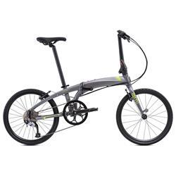 """Tern Unisex Fahrrad Verge D9 Faltrad, Grau Grün, 9 Gang, 20"""""""