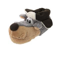 SAMs Tierhausschuhe Jagdhund, Grau