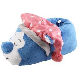Tierhausschuhe Kinder Hausschuhe Katze, Blau