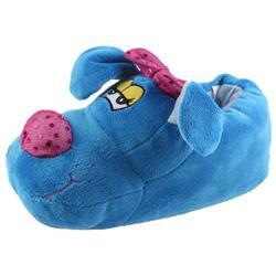 Tierhausschuhe Kinder Hausschuhe Hund Mit Schleifchen, Blau