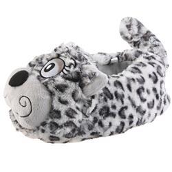 SAMs Damen Tierhausschuhe Katze, Grau
