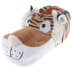 Tierhausschuhe Herren Hausschuhe Tiger, Beige
