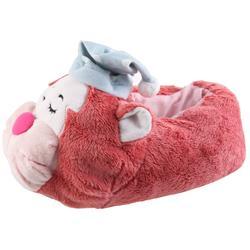 Tierhausschuhe Damen Hausschuhe Katze, Pink