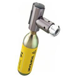 Topeak CO2 Kartuschenpumpe Air Booster, Grau