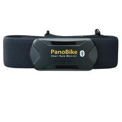 Topeak Herzfrequenzmesser PanoBike Bluetooth DuoBand Heart Rate Monitor, Schwarz