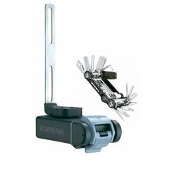 Topeak Multifunktionswerkzeug Ninja T Mountain Kompatibel mit Ninja Cage Flaschenhaltern, Schwarz