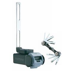 Topeak Multifunktionswerkzeug Ninja T Road Kompatibel mit Ninja Cage Flaschenhaltern, Schwarz