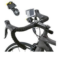 Topeak Kamera Lenkerhalterung Sport Camera Mount, Schwarz