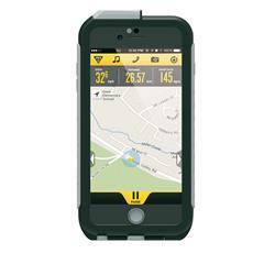 Topeak Handyhülle & Halterung Weatherproof RC Mount Kompatibel Mit Apple iPhone 6, Schwarz