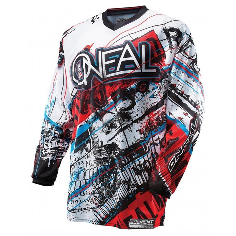 O'Neal Herren Jersey Element Acid, Blau