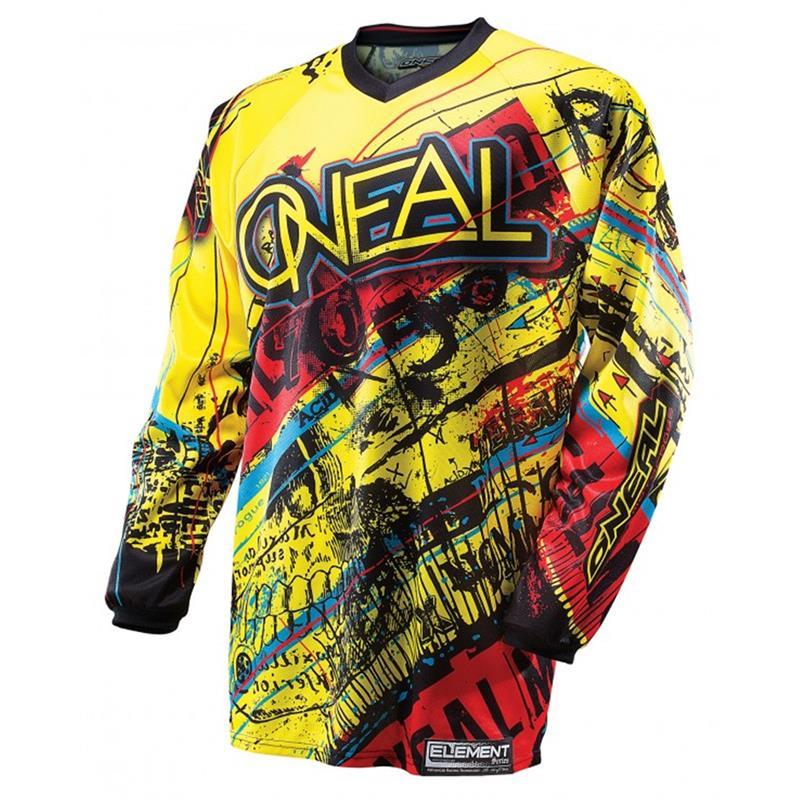 O'Neal Herren Jersey Element Acid, Gelb