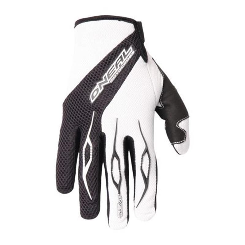 O'Neal Unisex Handschuhe Element Racewear, Weiß