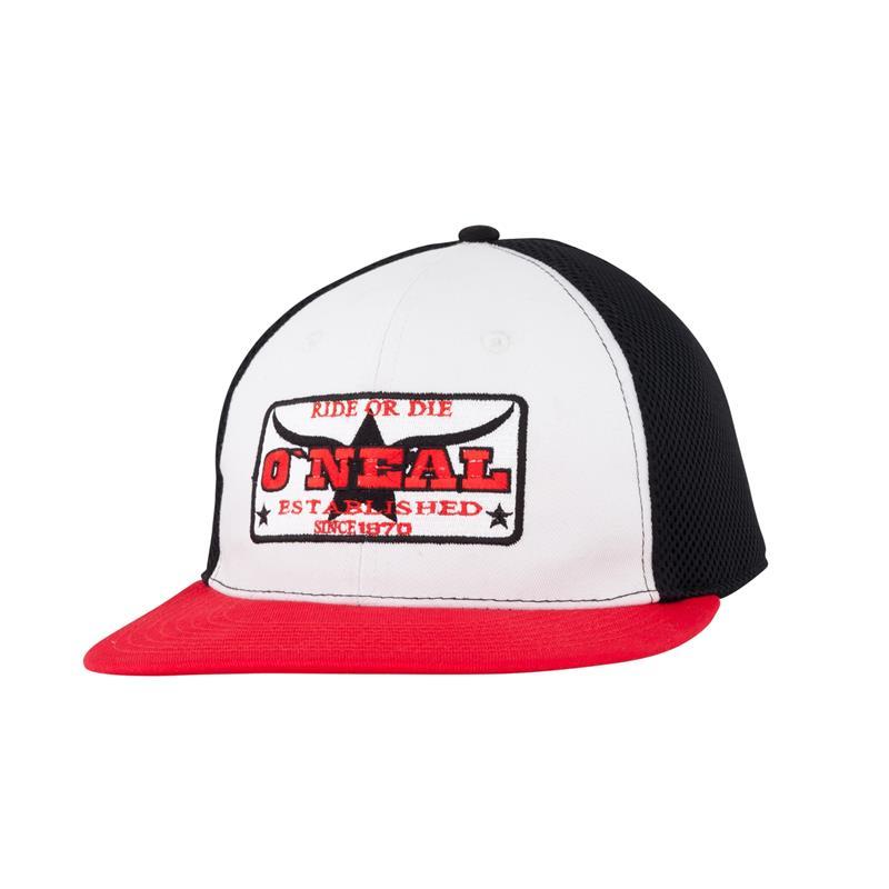 O'Neal Kappe Base Cap Mesh Logo, Rot