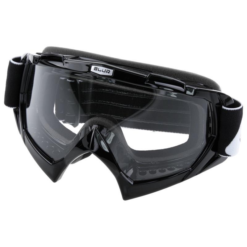 O'Neal Crossbrille B-Flex Goggle Blur Clear, Schwarz