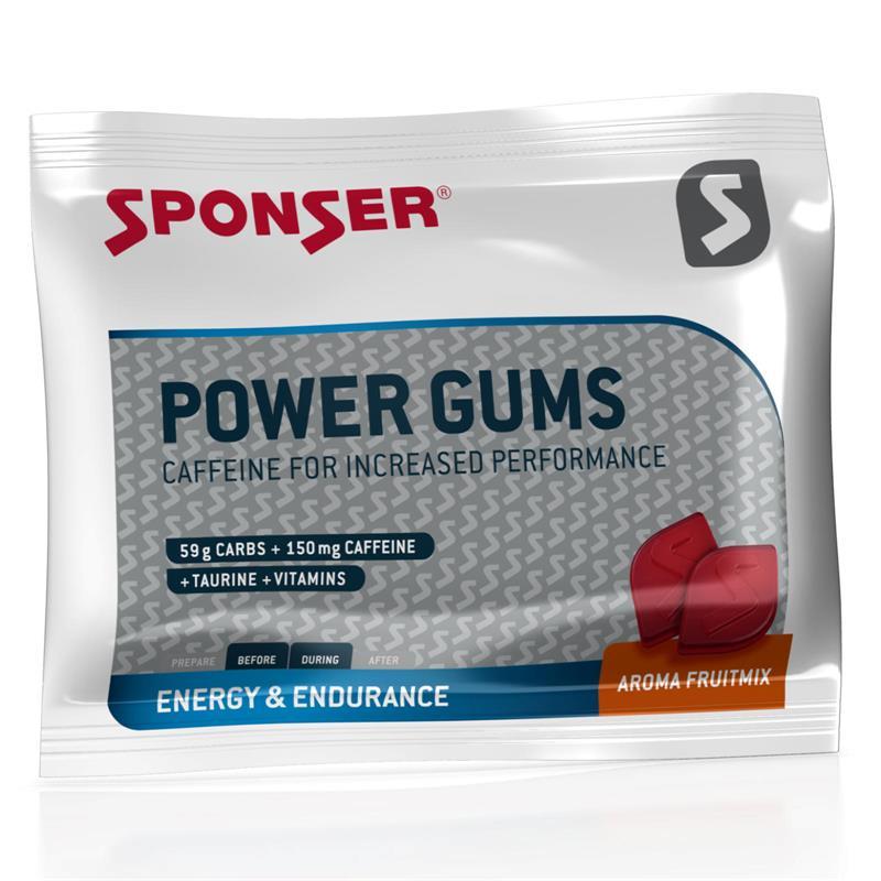 Sponser Snack Energie Power Gums Fruit Mix, 75 g