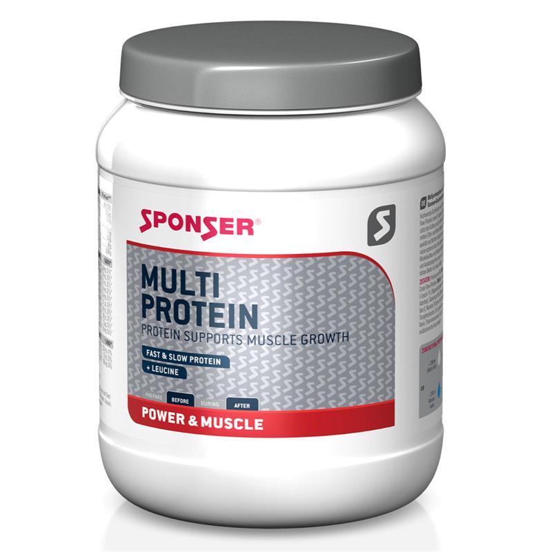 Sponser Proteinpulver Multi Protein Vanille, Dose 850 g