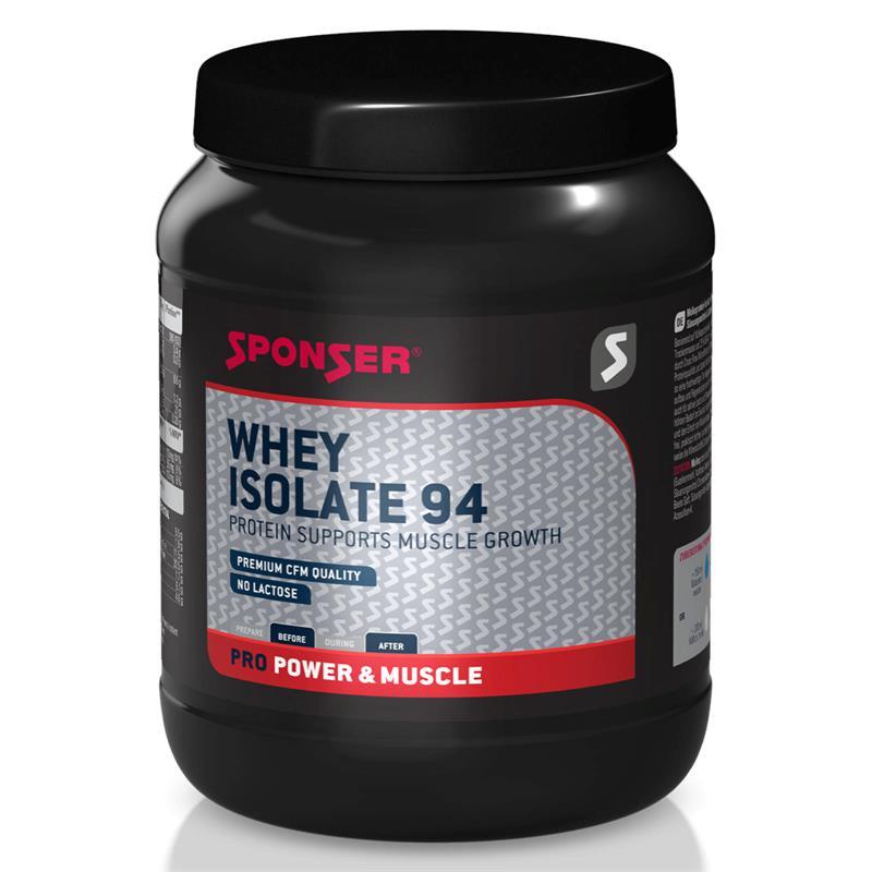 Sponser Proteinpulver Whey Isolate 94 Erdbeere, Dose 425 g