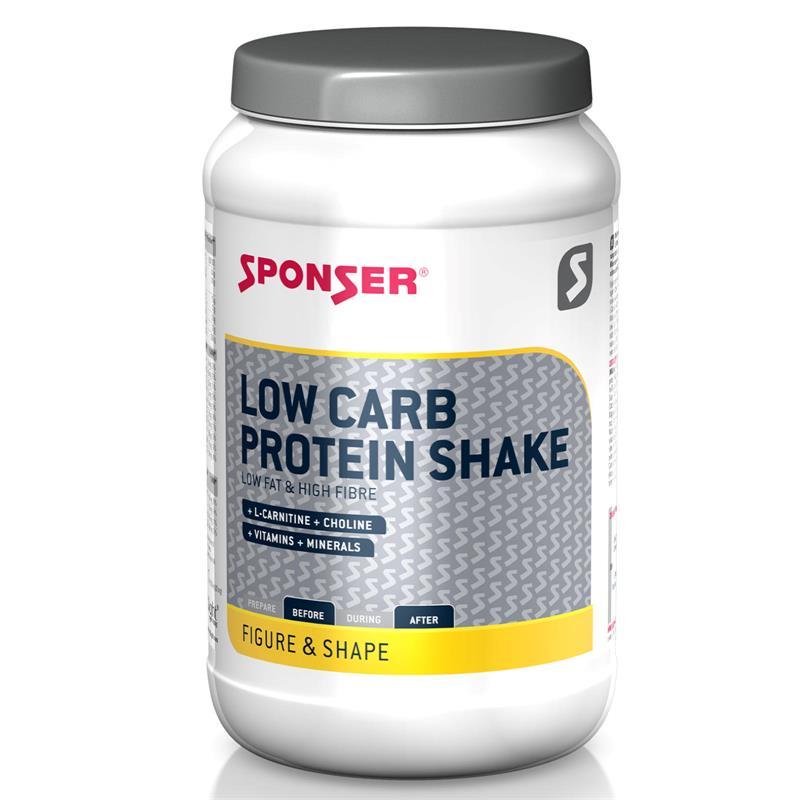 Sponser Proteinpulver Low Carb Protein Shake Vanille, 550 g