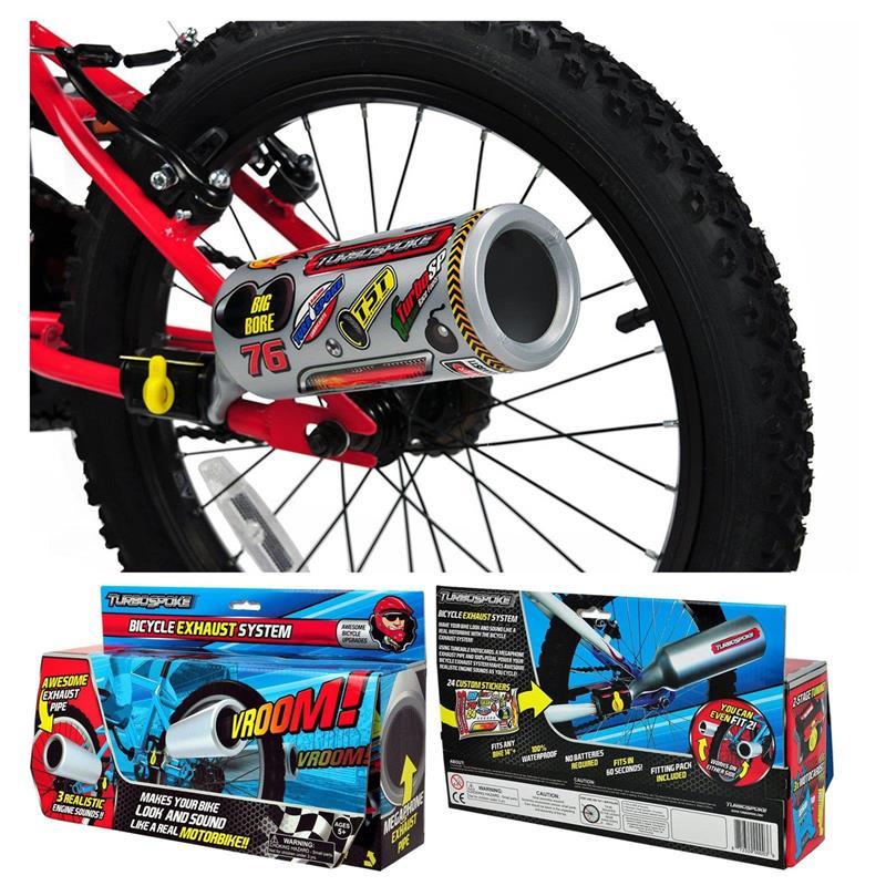 Turbospoke Fahrrad-Auspuff-System, Mehrfarbig