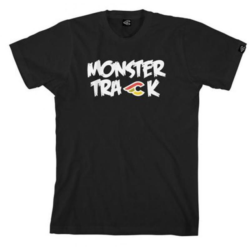Cinelli Herren T-Shirt Monster Track 2013, Schwarz