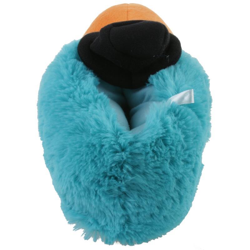 Tierhausschuhe Herren Hausschuhe Papagei, Blau