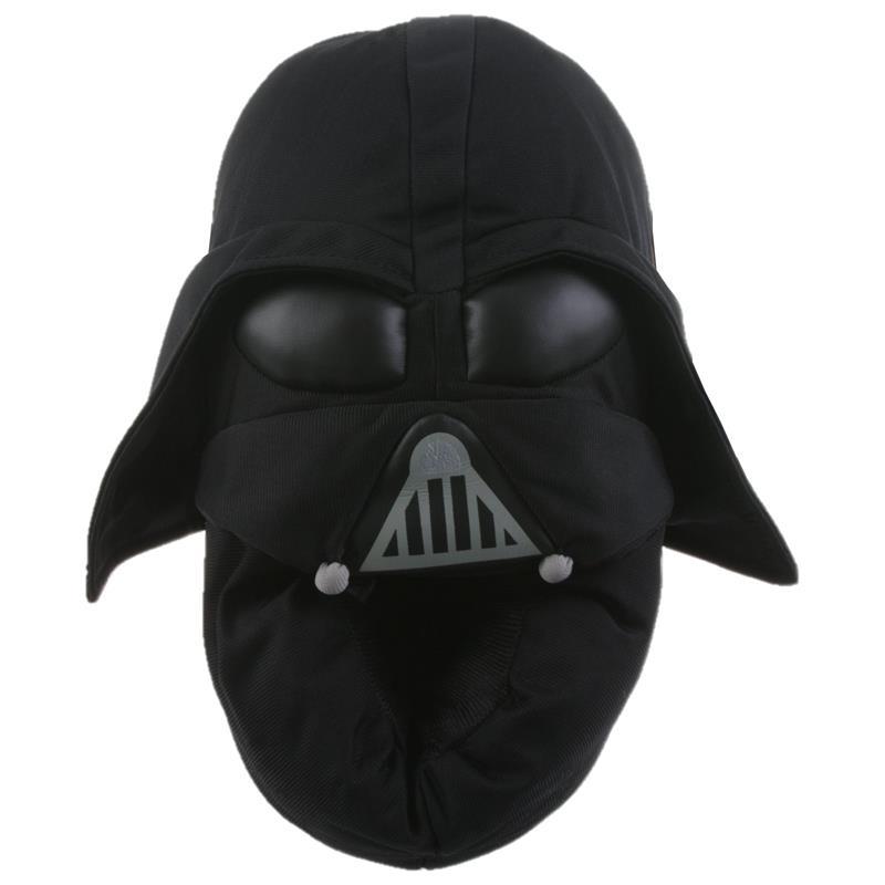 SAMs Herren Hausschuhe Disney Star Wars Darth Vader, Schwarz